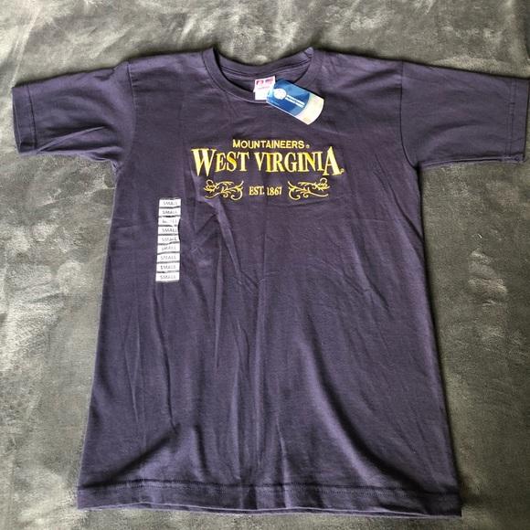 West Virginia Mountaineer/'s 1867 T-Shirt Size XXL